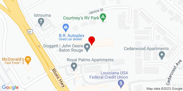 Google Map of +10110+Daradale+Avenue+Baton+Rouge+LA+70816