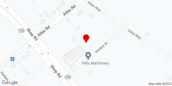 Google Map of +1014+Atlas+Way+Columbia+SC+29209