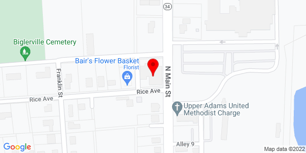 Google Map of +104+N+Main+Street+Biglerville+PA+17307