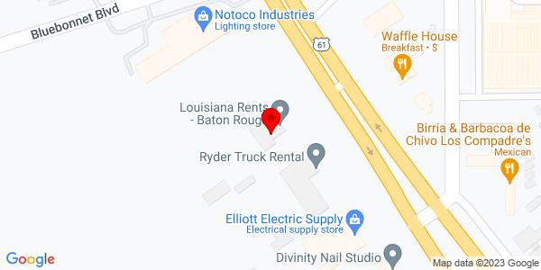 Google Map of +10414+Airline+Hwy.+Baton+Rouge+LA+70816