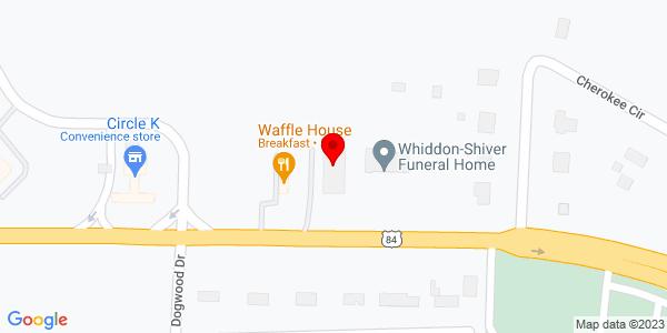Google Map of +10427+Hwy+84+East+Thomasville+GA+31792