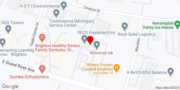 Google Map of +10461+Grand+River+Road+Brighton+MI+48116
