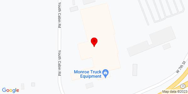 Google Map of +1051+W.+7th+St.+Monroe+WI+53566