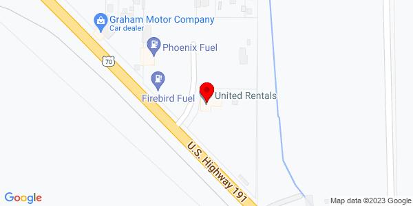 Google Map of +1060+East+Highway+70+Safford+AZ+85546