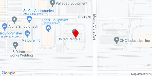Google Map of +10632+Monte+Vista+Ave+Montclair++CA+91763