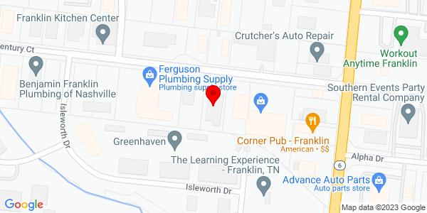 Google Map of +109+Century+Court+Franklin+TN+37064
