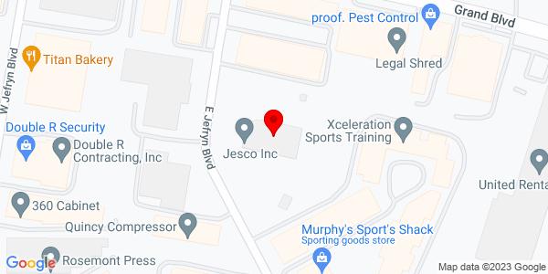 Google Map of +110+East+Jefryn+Blvd+Deer+Park+NY+11729