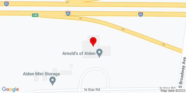 Google Map of +110+North+Star+Road+Alden+MN+56009