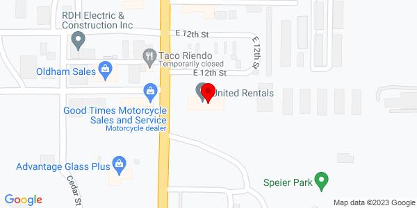 Google Map of +1100+Vine+Street+Hays+KS+67601