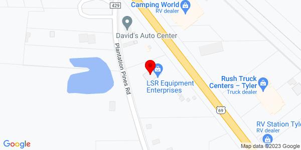 Google Map of +11093+US+Highway+69N++Tyler+TX+75706