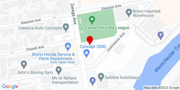 Google Map of +1144+Zerega+Avenue+Bronx+NY+10462