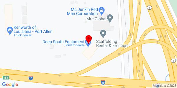 Google Map of +1150+LeBlanc+Rd.+Port+Allen+LA+70767