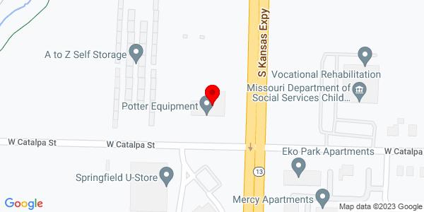 Google Map of +1155+S.+Kansas+Expwy+Springfield+MO+65807