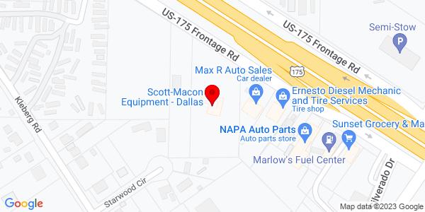 Google Map of +11618+C+F+Hawn+Frwy+Dallas+TX+75253