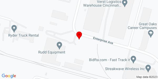 Google Map of +11807+Enterprise+Drive+Cinncinnati+OH+45241