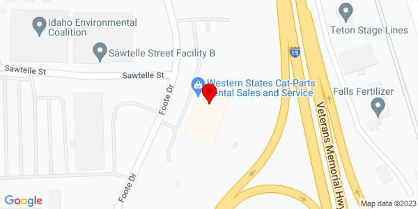 Google Map of +1200+Foote+Drive+Idaho+Falls+ID+83402