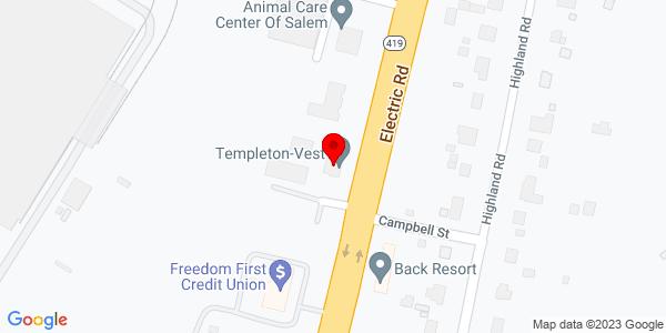 Google Map of +1201+Electric+Rd++Branch+Q02+Salem+VA++24153