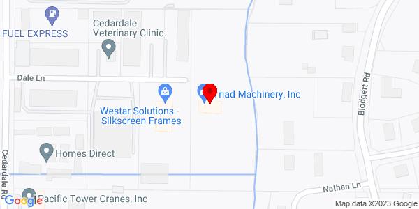 Google Map of +1210+Dale+Lane+Mt.+Vernon+WA+98274