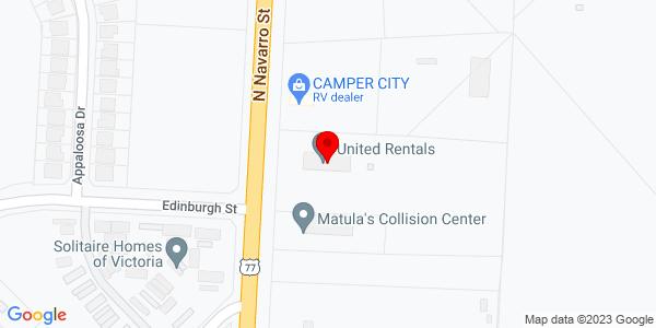 Google Map of +12104+Navarro+St+Victoria+TX+77904
