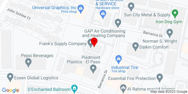 Google Map of +1211+Barranca+El+Paso+TX+79935