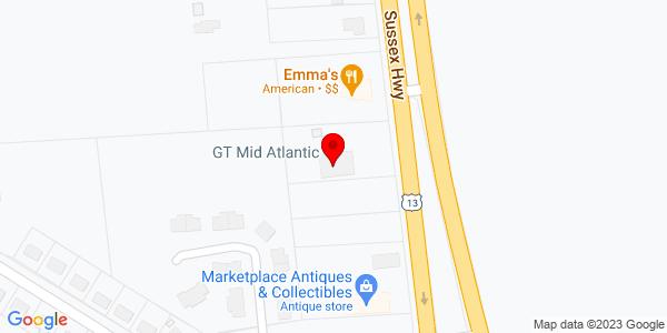 Google Map of +12420+Sussex+Highway+Greenwood+DE+19950
