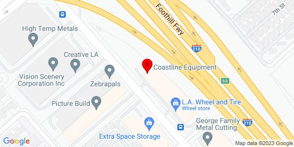 Google Map of +12435+Foothill+Blvd.+Sylmar+CA+91342