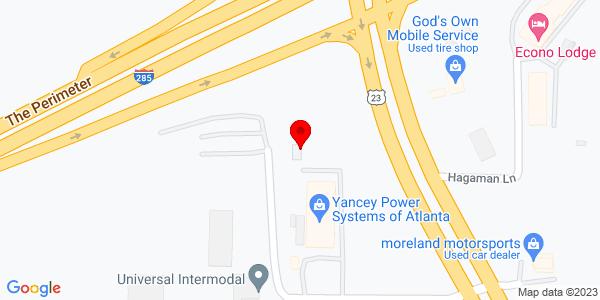 Google Map of +1244+Mason+Dixon+Lane+Conley+GA+30288