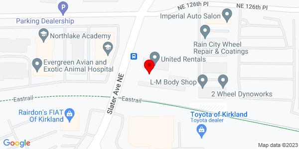 Google Map of +12500+132Nd+Ave+Ne+Kirkland+WA+98034