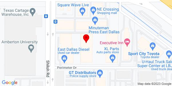 Google Map of +12569+Perimeter+Dr.+Dallas+TX+75228