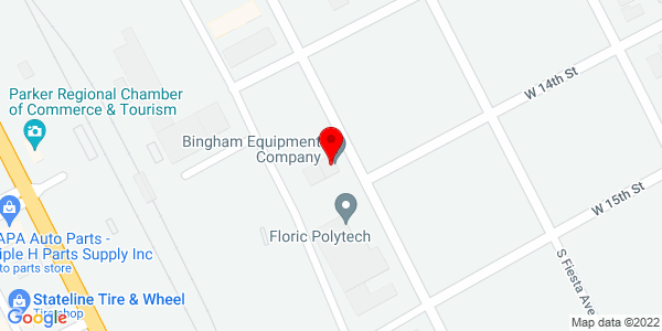 Google Map of +1320+S+Geronimo+Avenue+Parker+AZ+85344