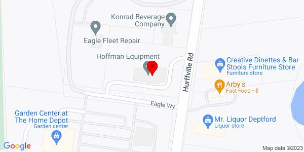 Google Map of +1330+Hurfville+Road+Deptford+NJ+08096