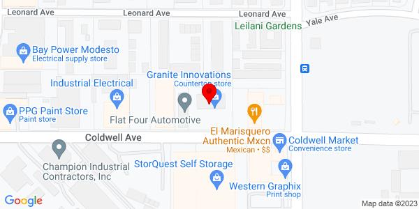 Google Map of +1331+Coldwell+Avenue+Modesto+CA+95350