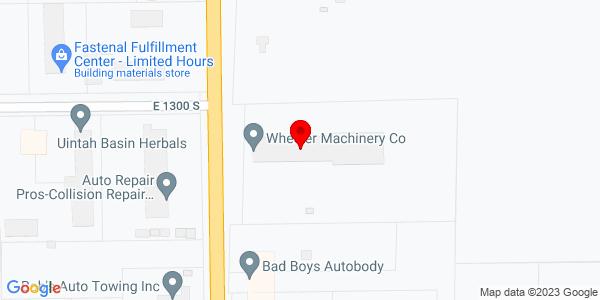 Google Map of +1345+South+1500+East+Vernal+UT+84078