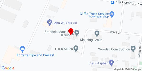 Google Map of +1389+Cahill+Drive+Lexington+KY+40504