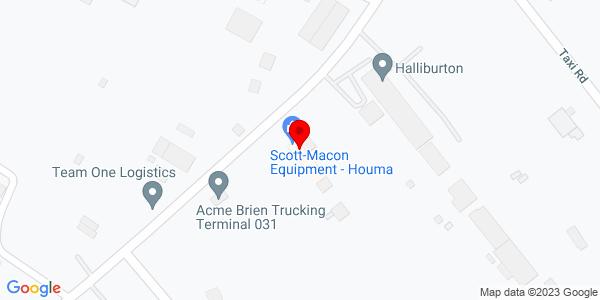 Google Map of +139+Clendenning+Road+Houma+LA+70363