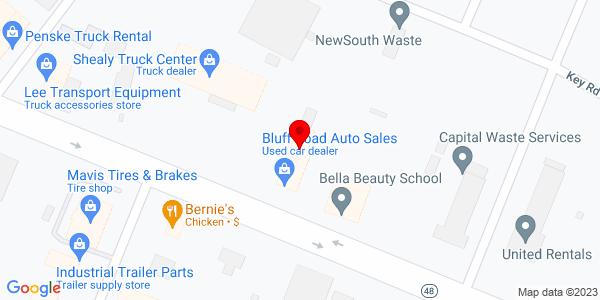 Google Map of +1400+Bluff+Road+Columbia+SC+29201