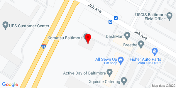 Google Map of +1400+Joh+Avenue+Baltimore+MD+21227