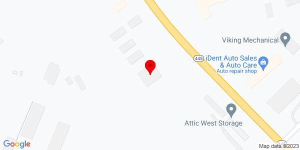 Google Map of +1441+Deadwood+Avenue+Rapid+City+SD+57702