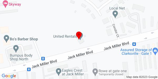 Google Map of +147+Jack+Miller+Blvd+Clarksville+TN+37042