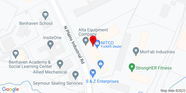 Google Map of +150+N+Plains+Industrial+Road+Wallingford+CT+06492
