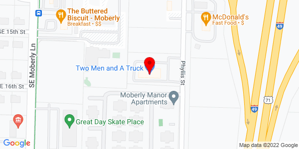 Google Map of +1500+Phyllis+Street+Bentonville+AR+72712