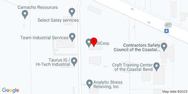 Google Map of +1502+Cathead+Road+Corpus+Christi+TX+78409