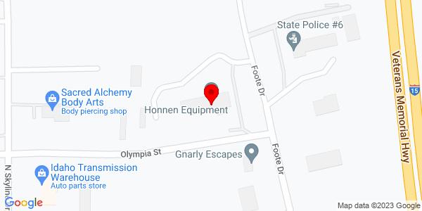 Google Map of +1505+Foote+Drive+Idaho+Falls+ID+83402