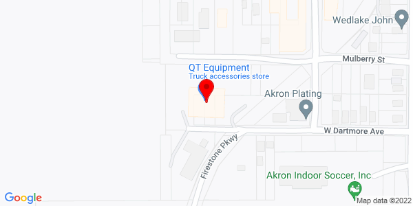 Google Map of +151+W.+Dartmore+Ave.+Akron+OH+44301