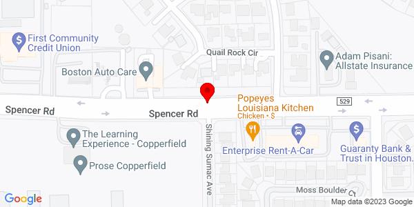 Google Map of +15210+Fm529++Highway+6+Houston+TX+77095
