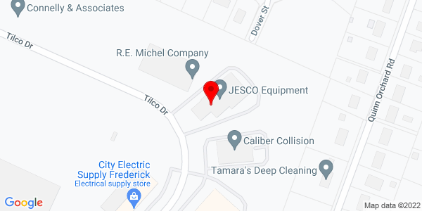Google Map of +1525+Tilco+Drive+Frederick+MD+21703