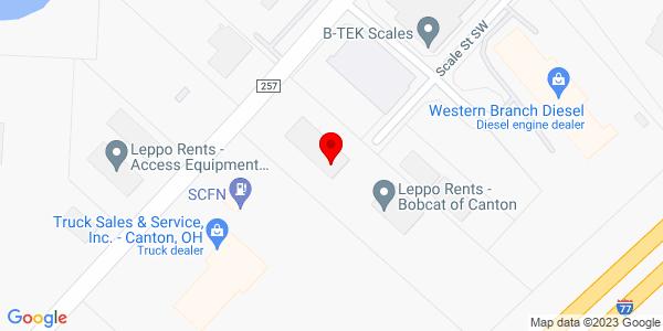 Google Map of +1534+Shepler+Church+Avenue+Canton+OH+44706