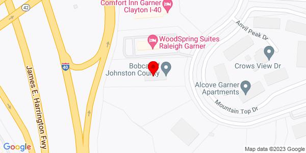 Google Map of +154+Cleveland+Crossing+Drive+Garner+NC+27529