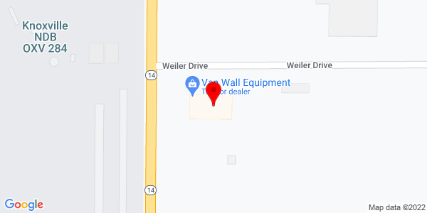 Google Map of +1556+Hwy+14++Knoxville+IA+50138