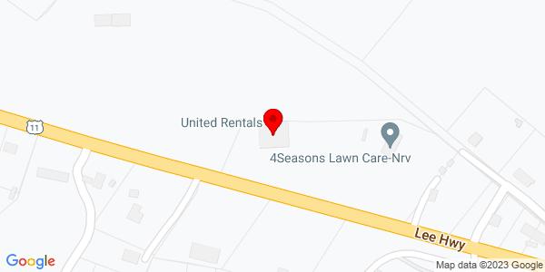 Google Map of +1570+Radford+Road+Christiansburg+VA+24073